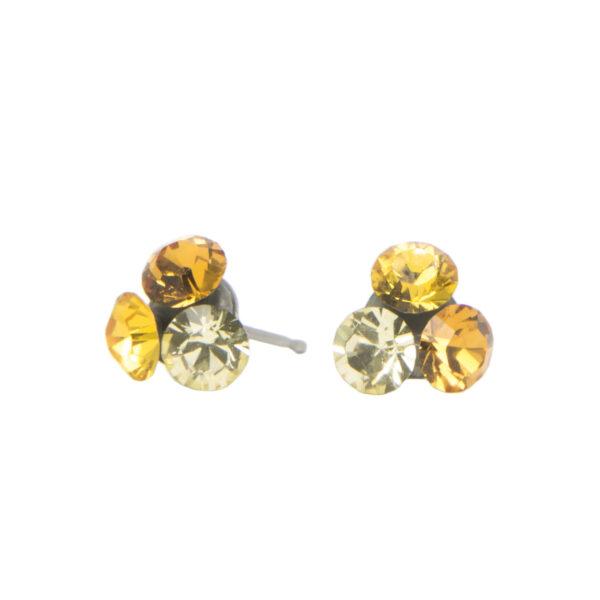 Cercei Round Stones pp30, Miidefloriart, model 174